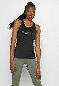 Calvin Klein Performance - TANK - Top - black - 0
