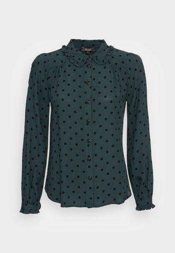 SOPHIA BLOUSE PABLO - Button-down blouse - pine green