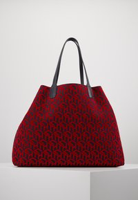 Tommy Hilfiger - ICONIC TOTE SET - Torba na zakupy - red - 2