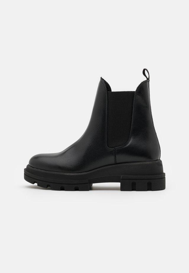 PROVENSE - Platform ankle boots - black