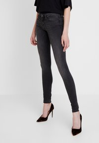 ONLY - ONLCORAL - Jeans Skinny Fit - dark grey denim - 0