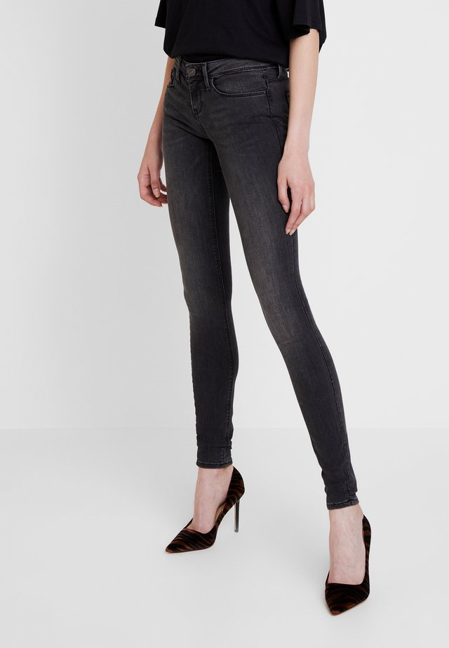 ONLCORAL - Vaqueros pitillo - dark grey denim