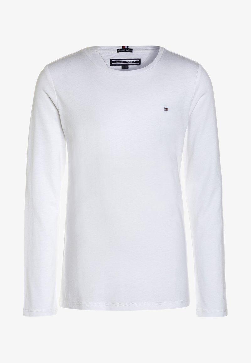 Tommy Hilfiger - GIRLS BASIC  - Top sdlouhým rukávem - bright white