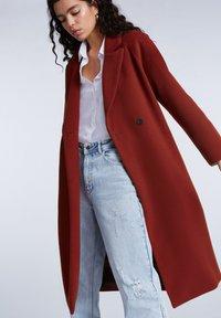 SET - Classic coat - maroon - 3