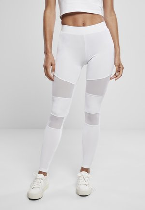 TECH - Leggings - Trousers - white