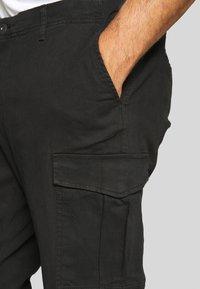 Jack & Jones - JJIROY JJJOE - Cargo trousers - black - 4