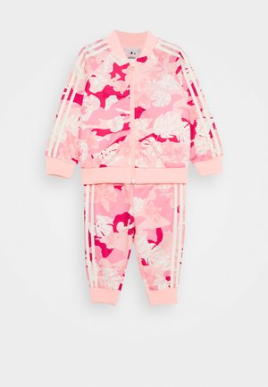 SET - Trainingsanzug - white/pink