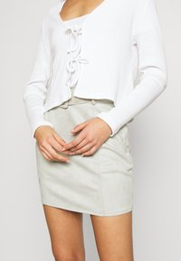 Monki - MATHILDA CARDIGAN - Vest - white - 4