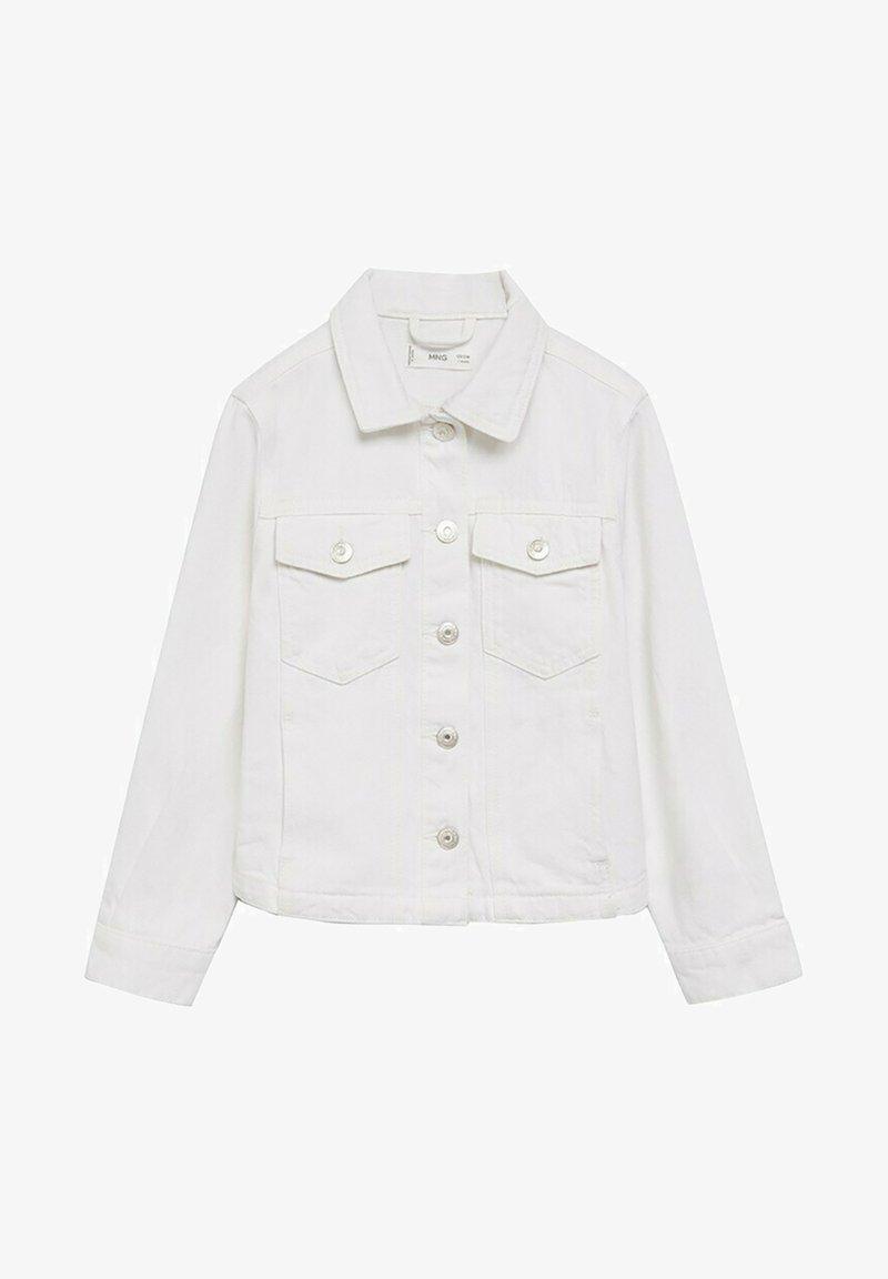 Mango - Denim jacket - wit