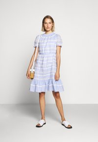 J.CREW - JOPLIN DRESS - Denní šaty - faded peri - 1