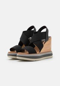 Paloma Barceló - FILIPINAS - Sandály na vysokém podpatku - black - 2