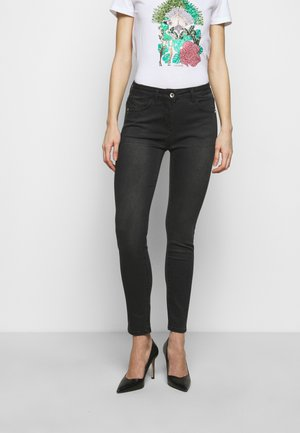 PANTALONI TROUSERS - Jeans Skinny Fit - washed deep black