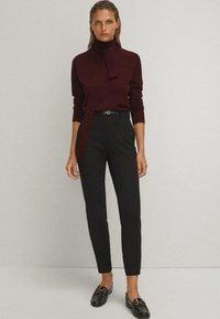 Massimo Dutti - Spodnie materiałowe - black - 1
