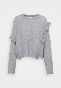 3.1 Phillip Lim - LOFTY CROPPED RUFFLE - Jumper - grey - 0
