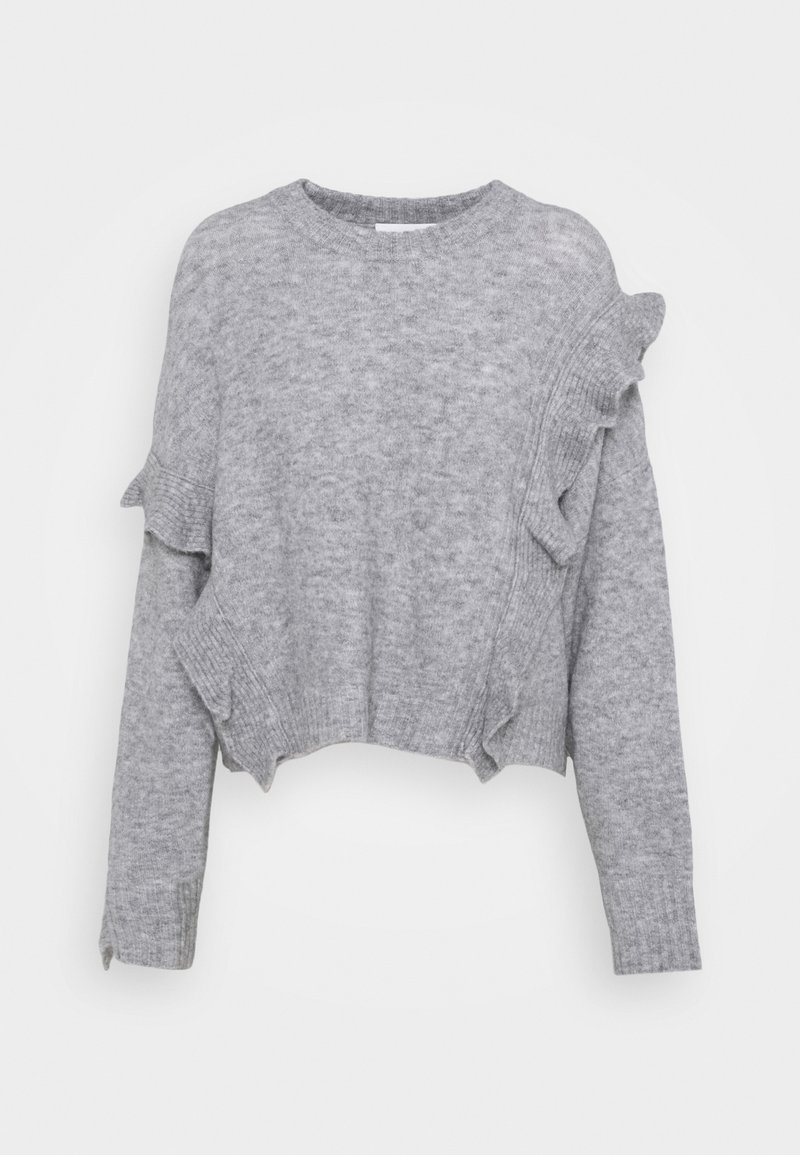 3.1 Phillip Lim - LOFTY CROPPED RUFFLE - Jumper - grey