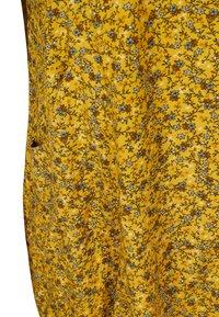 Zizzi - Day dress - yellow ditsy flower - 6