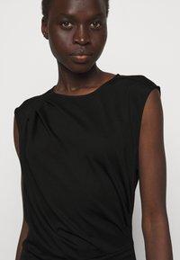 DESIGNERS REMIX - MODENA PLEAT DRESS - Shift dress - black - 4