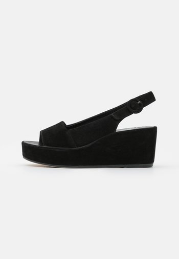 SEASIDE - Sandály na platformě - schwarz