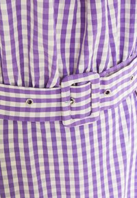 VILA TALL - VIGRIMDA MAXI BELT DRESS - Day dress - violet tulip/white - 2