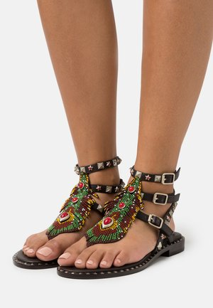 T-bar sandals - espresso
