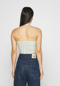 Glamorous - MAYA HALTER NECK WITH OPEN BACK 2 PACK - Top - black/mint - 2