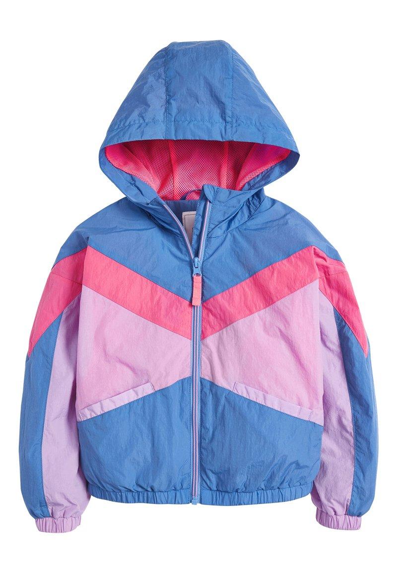 Next - COLOURBLOCK - Light jacket - blue