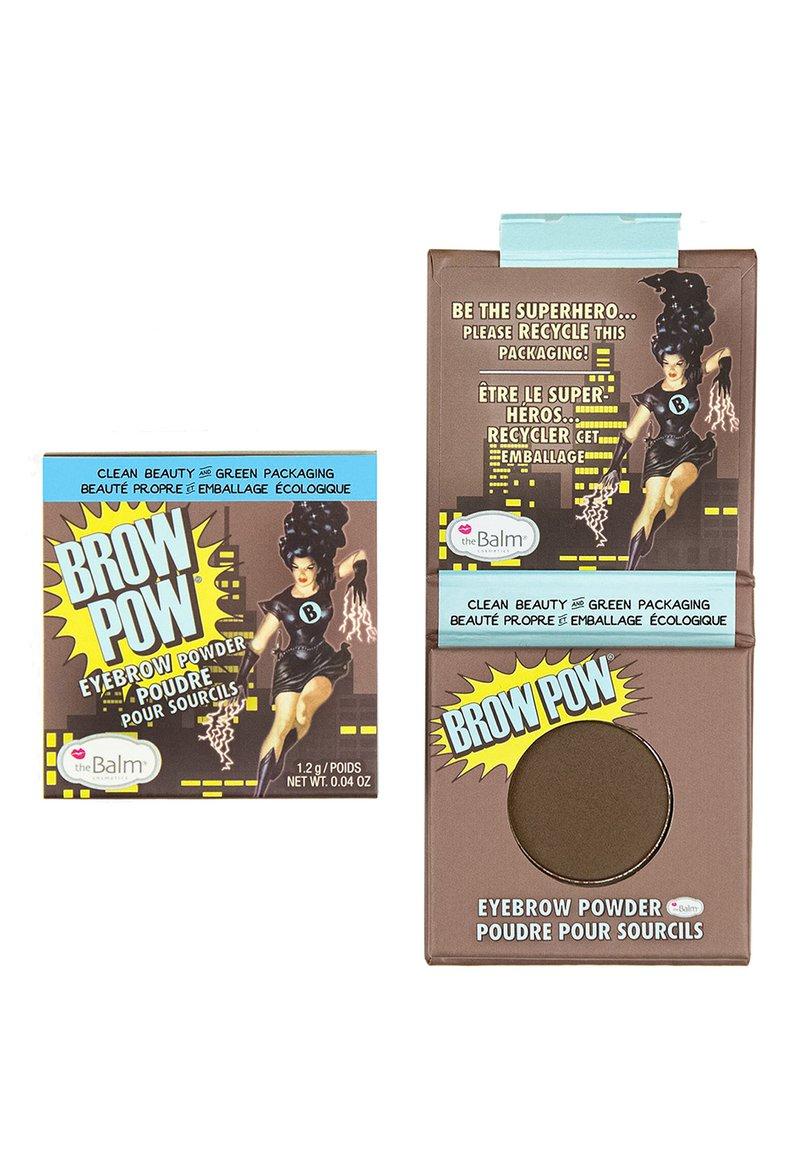 the Balm - BROW POW - Eyebrow powder - dark brown