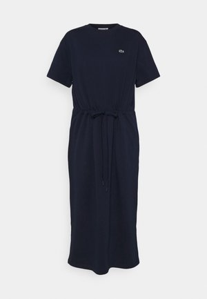 Jersey dress - navy blue