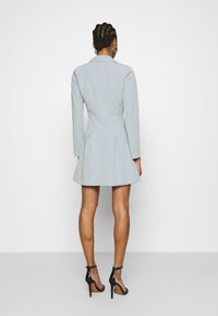 Who What Wear - JACKET DRESS - Vestido de tubo - grey - 2