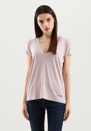 Basic T-shirt - rosa antico