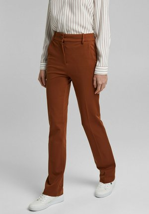 Trousers - toffee