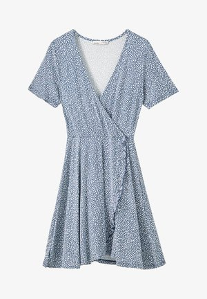 Day dress - stone blue denim