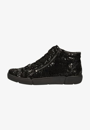 High-top trainers - schwarz 31
