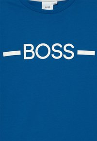 BOSS - SHORT SLEEVES - Print T-shirt - pale blue - 2