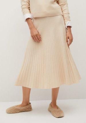 GRUP - A-line skirt - gris clair/pastel