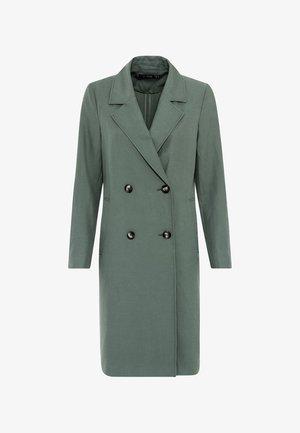Classic coat - seegrün