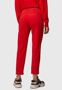 BOSS - SACHINI - Trousers - red - 2