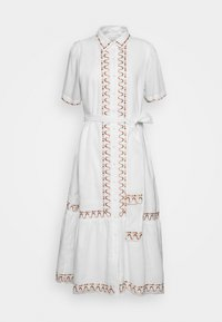 AFTERNOON EMBELLISHMENT - Vestido camisero - off-white