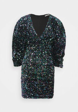 MULTI SEQUIN DRESS - Cocktailjurk - multi