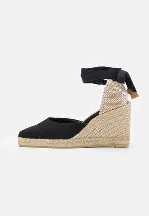 JOYCE - Sandály na platformě - black