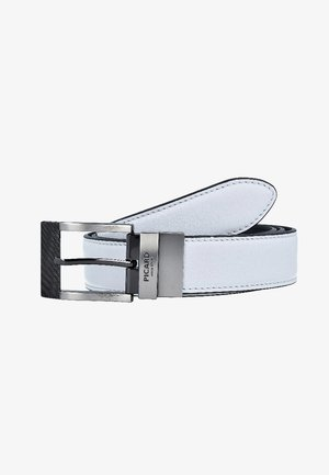 Belt business - white