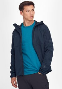 Mammut - Soft shell jacket - marine - 5