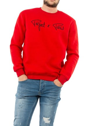 Sweater - rouge