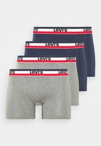 LOGO BOXER BRIEF 4 PACK - Pants - dress blues