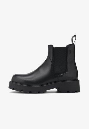COSMO  - Platform ankle boots - schwarz