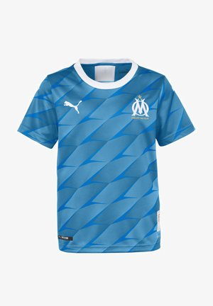 OLYMPIQUE DE MARSEILLE - Sports shirt - bleu azur