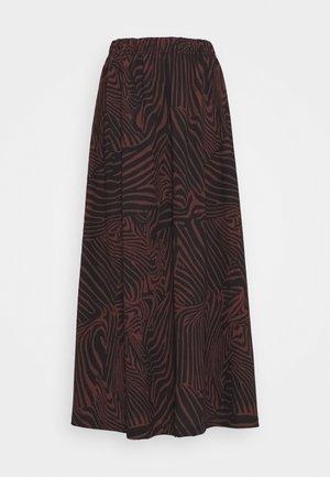 ONLZILLE MAXI SKIRT - Maxi skirt - port royale