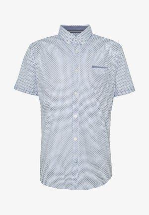 FLOYD PRINTED SHIRT - Camicia - white/navy blue