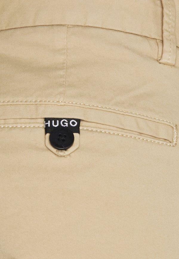 HUGO DAVID - Chinosy - medium beige/beżowy Odzież Męska NJKV