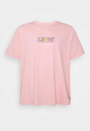 BIG GRAPHIC TEE - Triko spotiskem - powder pink
